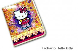 Fichário Hello Kitty