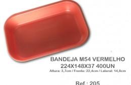 Bandeja M54 Vermelho