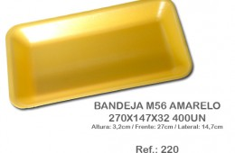 Bandeja M56 Amarelo