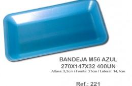 Bandeja M56 Azul