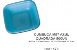 Cumbuca M57 Azul